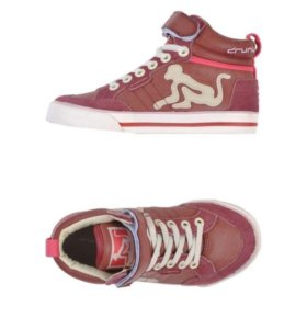 Детские кожаные кросовки