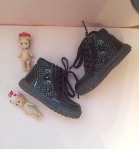 Ботиночки для девочки 20 размер