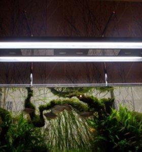 Светильник металлогалогенный + 4 лампы Т5 39 Вт
