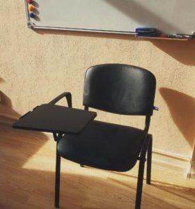 Стулья со складным столиком ISO 12шт. новые