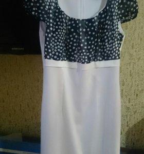 Платье-двойка.48р