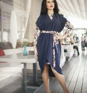 Костюм новый: платье+накидка