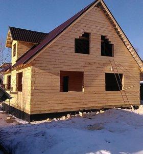 Строительство деревянных домов и бань.