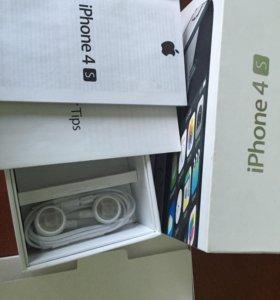 Наушники iPhone 4s новые