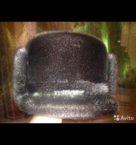 Шапка-кепка из нерпы