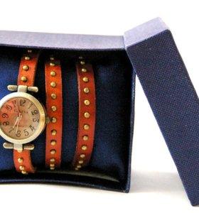 Часы дизайнерские в коробочке