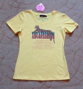 🍒Новые футболки-46-48🍒