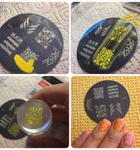 Диски для нанесения рисунков на ногти