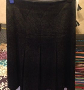 Теплая юбка р.44