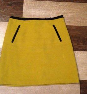 Горчичная юбка, р-р 10