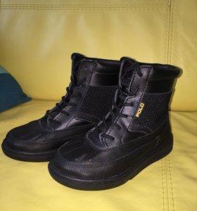 Новые демисезонные ботинки Ralph Lauren 18,5 см