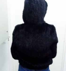 Куртка из натуральной вязаной норки ( НОВАЯ)