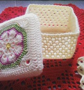 Корзинки шкатулки конфетницы Ручная работа handmad