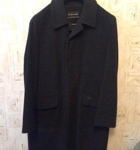 Мужское шерстяное пальто Pierre Cardin