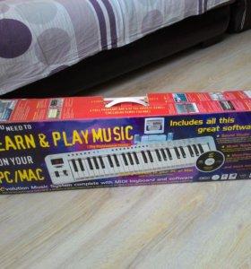Midi клавиатура+vst инструменты