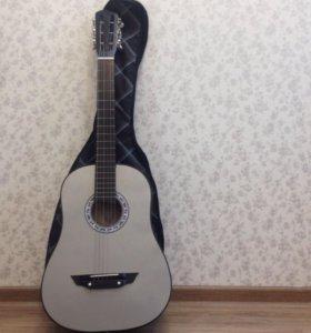 Продам гитару б/у 6 мес.требует замены 2 х струн