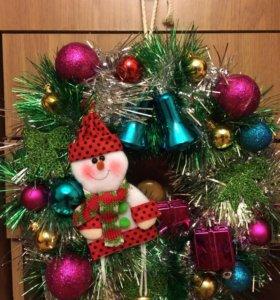 Новогодние украшения,сувениры