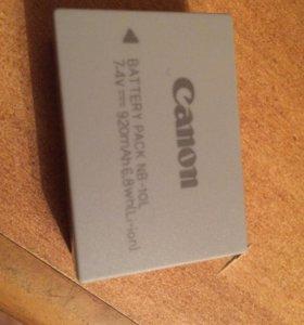 Аккамуляторные батареи Canon NB-10L 2шт