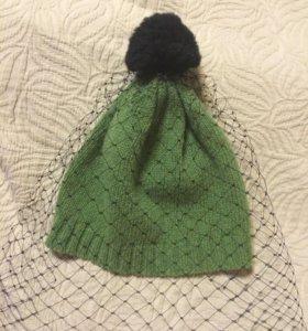 Шерстяная шапка с вуалью Bernstock Speirs