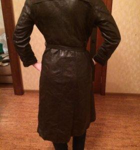 Пальто натуральная кожа 44-46