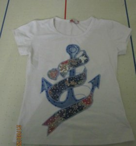Новая футболка. Размер 44