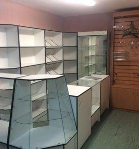 Торговая мебель для магазинов Шкафы тумбы, витрины