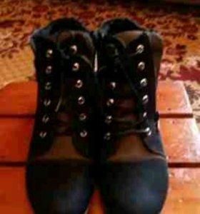 Ботинки новые 40р