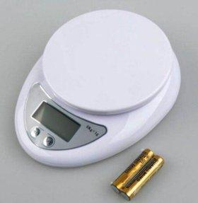 Электронные кухонные весы, от 1г до 5кг