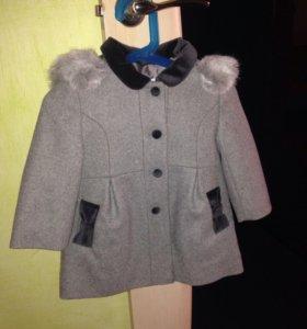 Детское пальтишко для девочки.