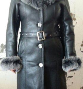 Пальто зам.кожа