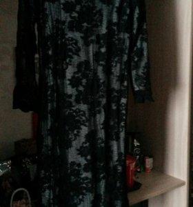 Платье трикотаж р.46