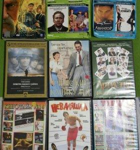9 дисков с фильмами