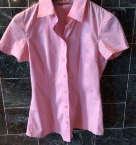 Блузка розовая 42-44
