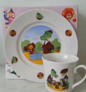 Новый набор детской посуды