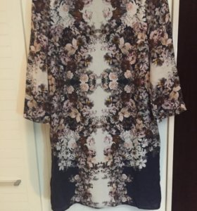 Платье шёлковое Massimo Dutti