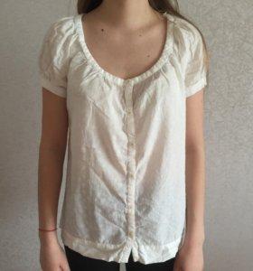Блузка с коротким рукавом (Mango)