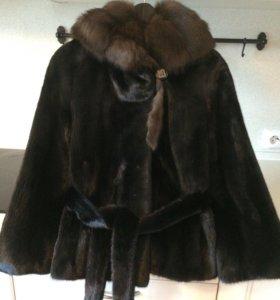 Норковая шуба из аукционного меха Kopengagen Fur