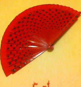 Детский веер для Фламенко
