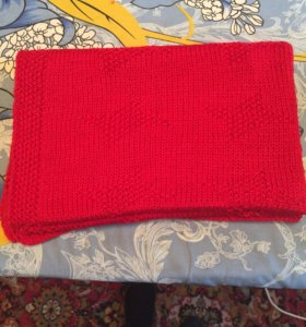Плед ручное вязание