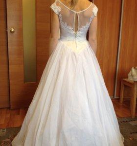 Свадебное платье 44-46р