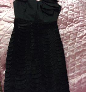 Платье фирменное чёрное дорогое