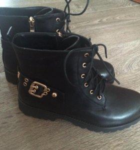 Новые женские ботинки