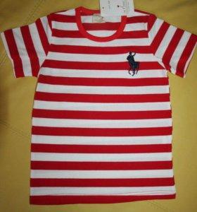 Новая футболка р.  120