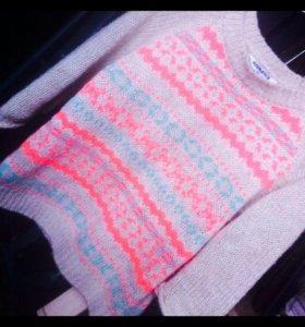 Телесный свитер