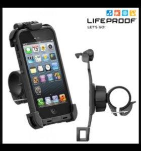 Велосипедный держатель LifeProof Bike для iPhone 5