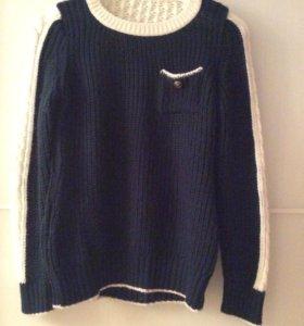 Эксплозивный вязаный свитер
