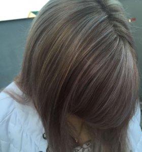Стрижки и окраски волос