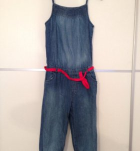 Комбинезон джинсовый мазакея
