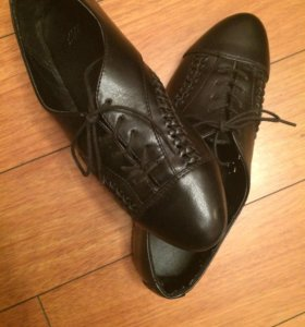 Ботинки hm черные 37