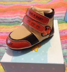 Новые ботинки весна-осень
